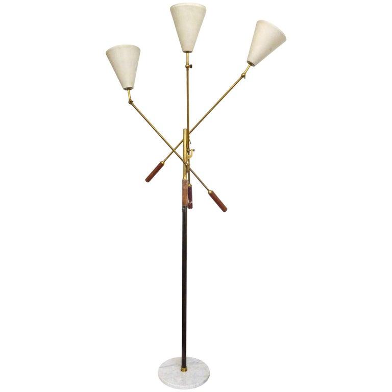 Italian Triennale Floor Lamp by Arredoluce 1