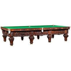History of Australia Billiard Table