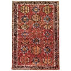 Vintage Persian Karajeh Rug