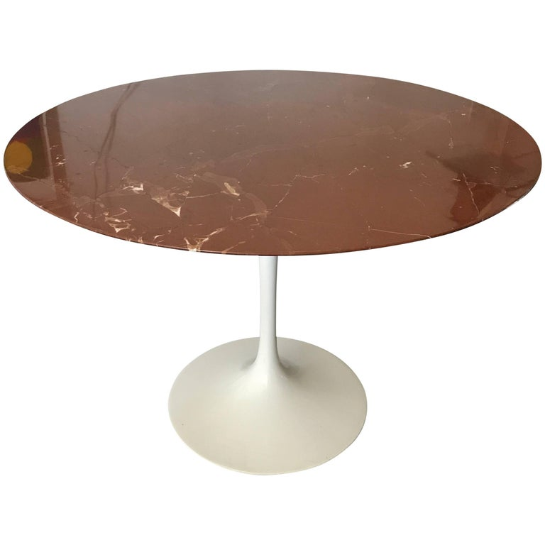 Eero Saarinen Marble Tulip Table Knoll For Sale