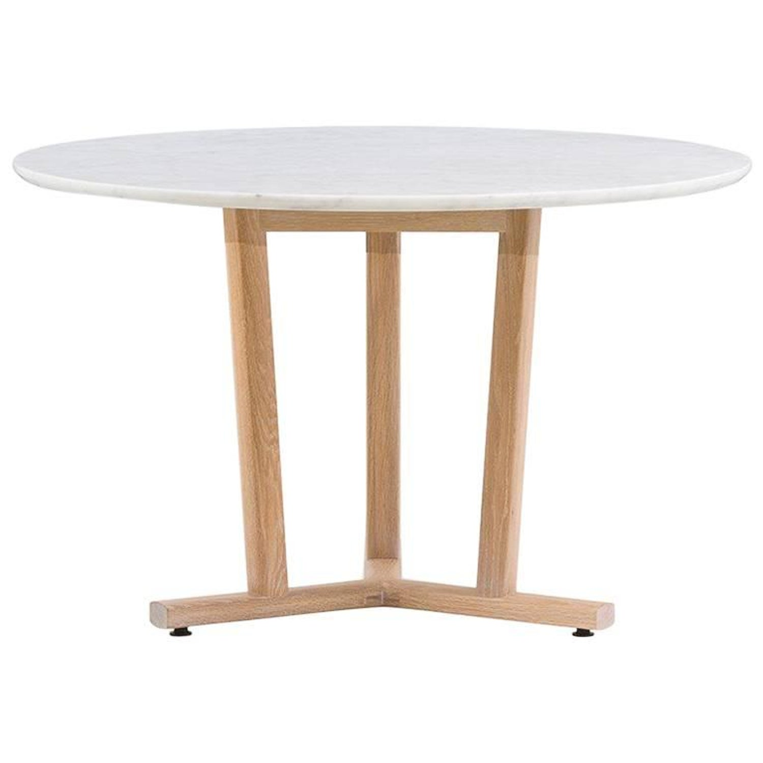 Neri and Hu for De La Espada Round Shaker Dining Table Marble