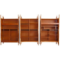 Stackable Bookcase, Wall Unit by Cabinetmaker Knud Juul-Hansen