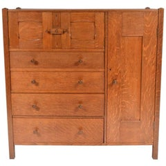 Arts and Crafts Commodes and Chests of Drawers