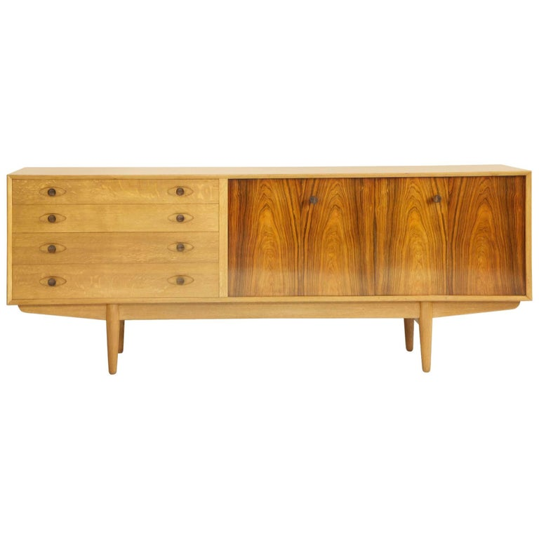 Robert Heritage Hamilton Sideboard for Archie Shine, Design Centre Award in 1958 For Sale