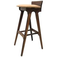 Erik Buck Chr. Christensens Mobelfabrik I/S Vamdrup Design Rosewood Bar Stool