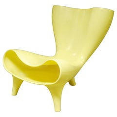 Mark Newson, Orgone Yellow Polyethylene Lounge Chair, Designed 1993
