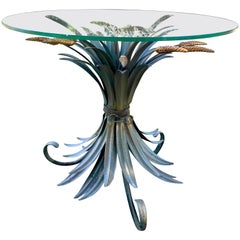 1970s, Pedestal Table in the Style of Coco Chanel