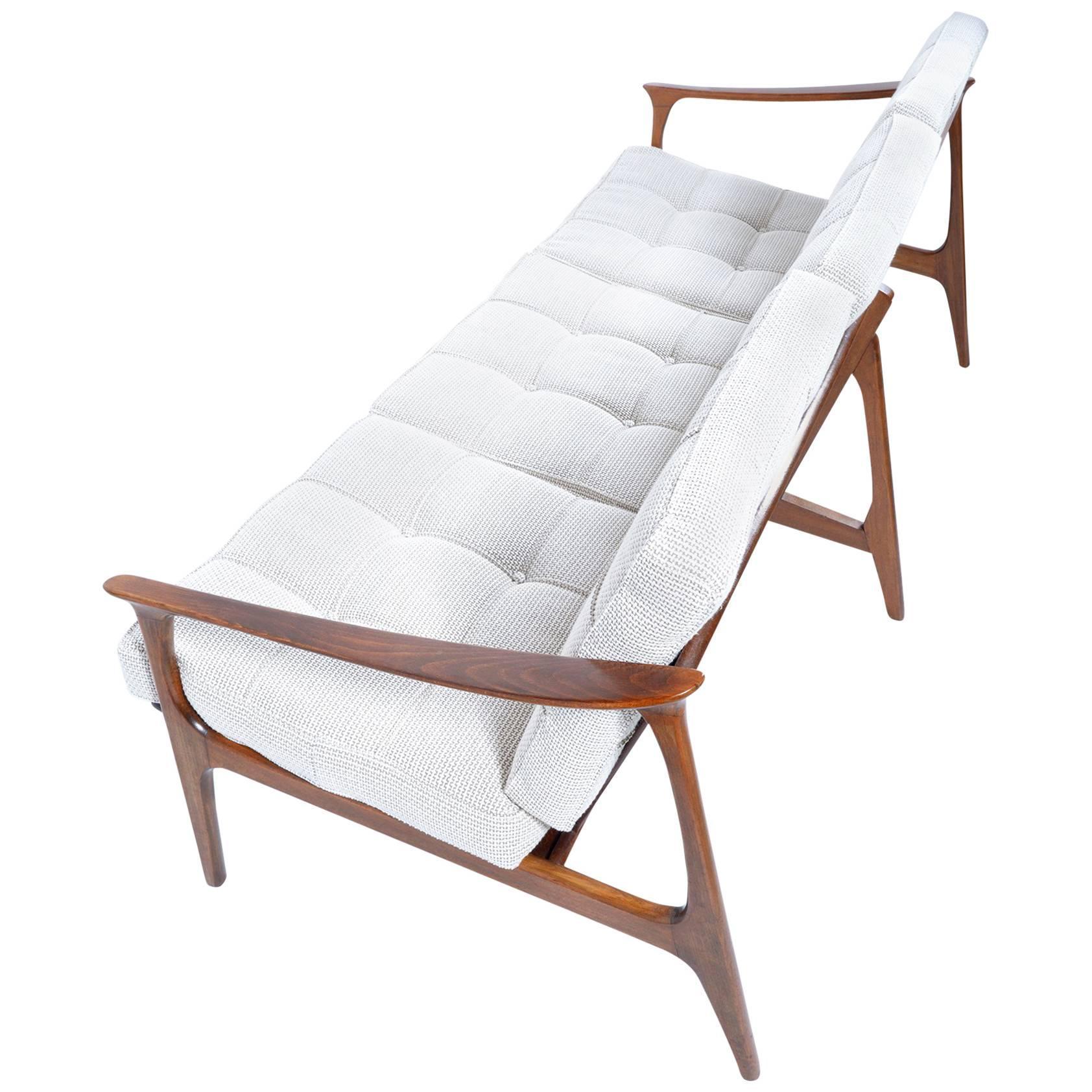 Mid-Century Italian Three Seats Sofa