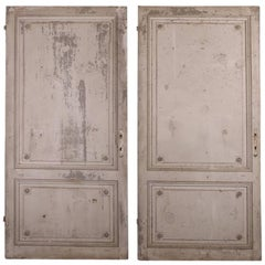 Pair of 19th Century French Panels
