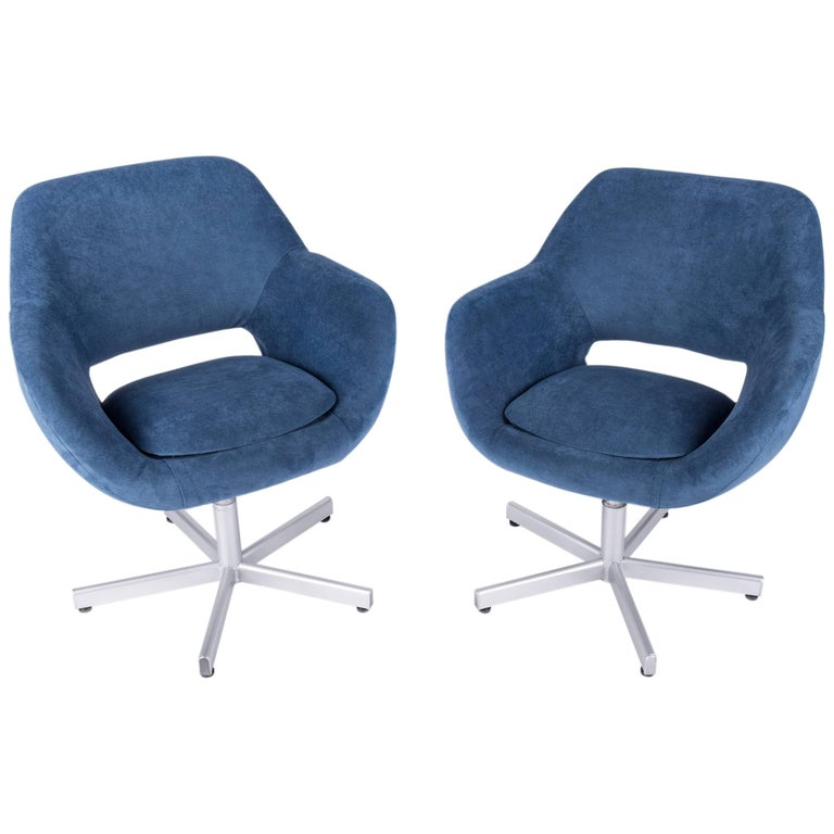 Pair of 1960s Swivel Chairs