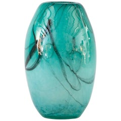 French Handblown Glass Vase, Early 21st Century