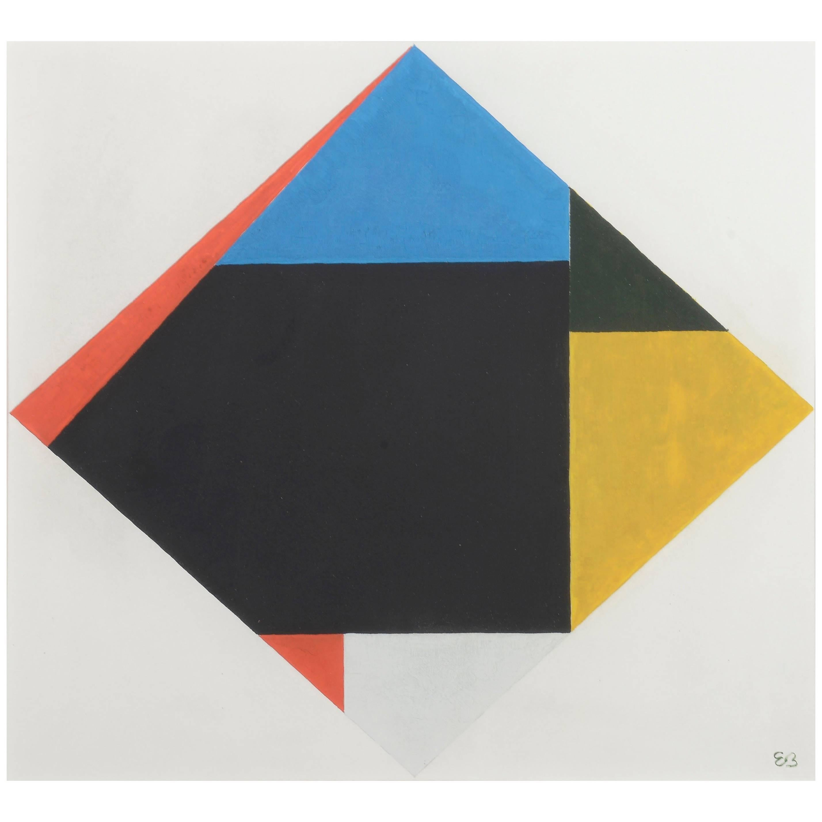 Etienne Beothy, Abstract Composition, circa 1938-1945