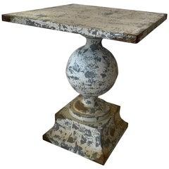 Zinc Garden Table