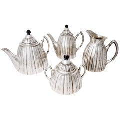 Art Deco Silver Tea and Coffee Service