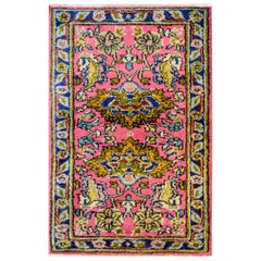 Early 20th Century Agra Rug