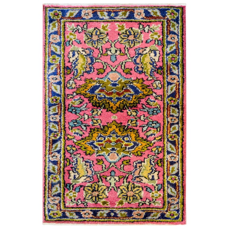 Early 20th Century Agra Rug For Sale At 1stdibs