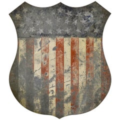 Antique Federal Shield, 30 Stars, circa 1848