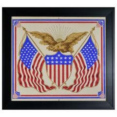 Antique Patriotic Wallpaper