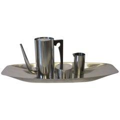 Stelton Coffee Set by Danish Designer Arne Jacobsen