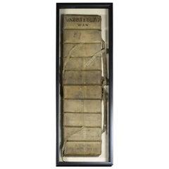 Antique Cork Life Vest Nautical Decor