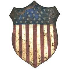 Antique 38 Star Federal Shield circa 1876 Centennial