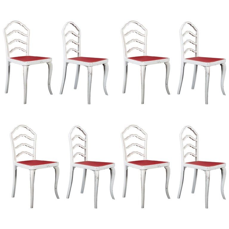 Set of Eight Thonet Dining Chairs For Sale