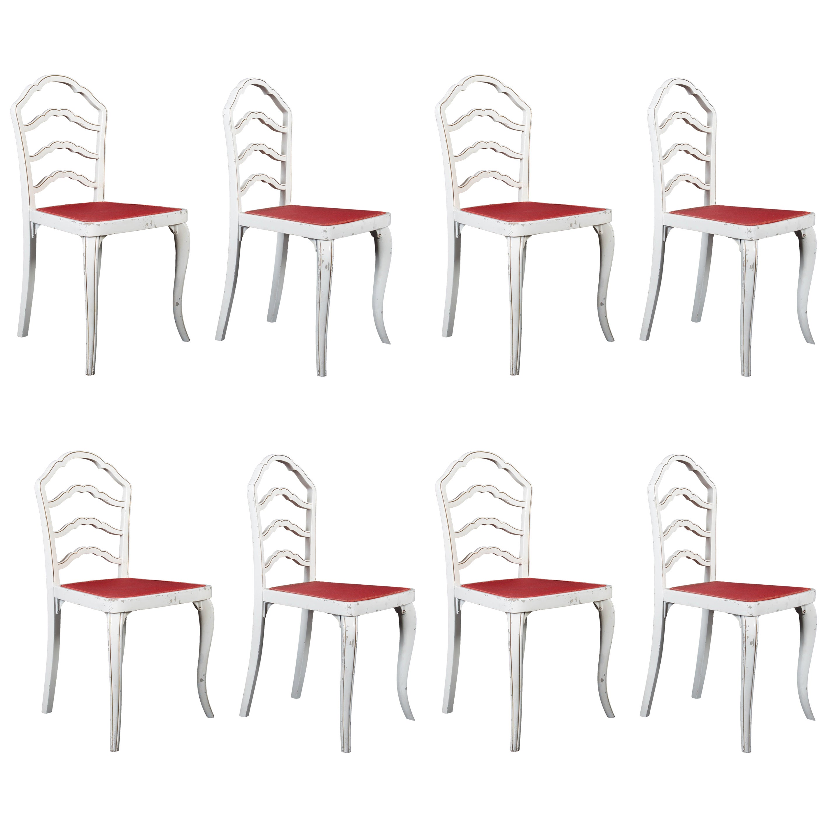 Set of Eight Thonet Dining Chairs