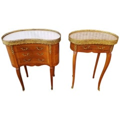 Louis XV Style End Tables or Nightstands