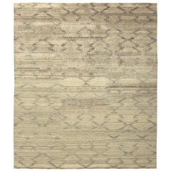 Terra Rug in Natural Wool II