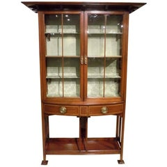 Fine Quality Mahogany Arts & Crafts Period Cabinet by Shapland & Petter