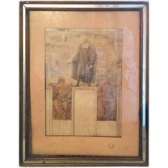 1942's Giovanni Lorenzo Bernini St. Peter's Basilica Vatican