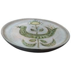 Marie Madeleine Jolly Le Triskel Beautiful Ceramic Dish, circa 1960