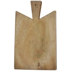 Early 20th Century French Chopping Board