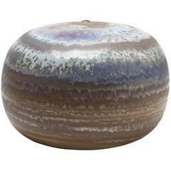 Ceramic Vase by Antonio Lampecco with Crystallization Decoration, circa 2000