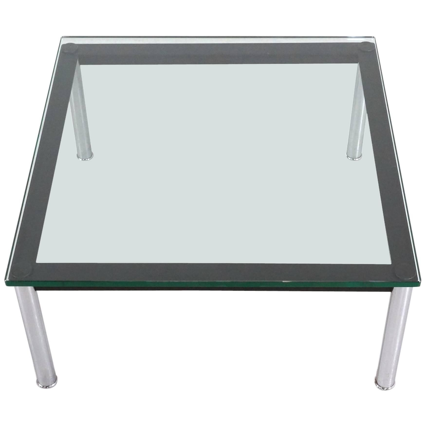 le corbusier glass table lc10 by cassina - Le Corbusier Chair