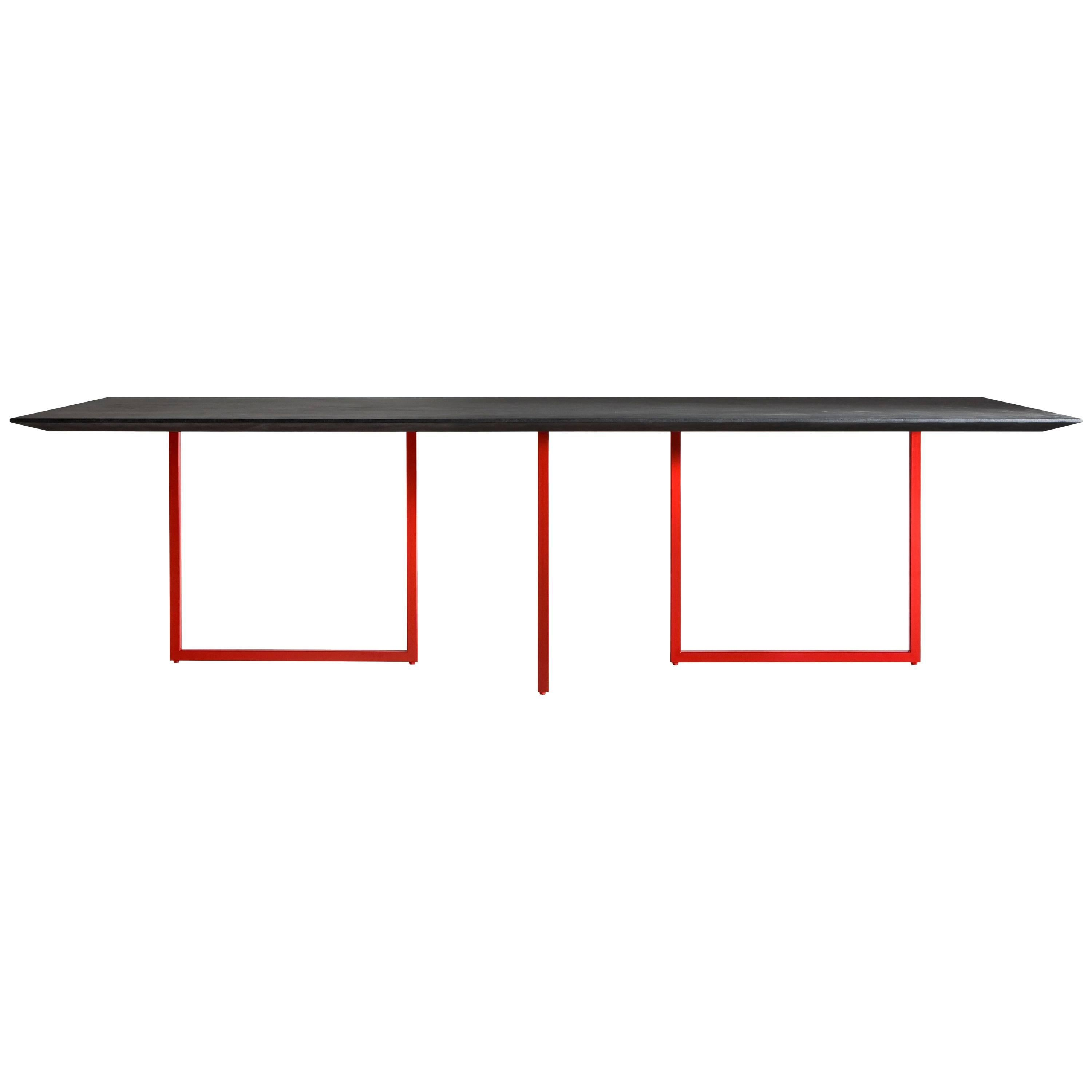 """""""Gazelle"""" Black or White Finished Dining Table by Park Associati for Driade"""