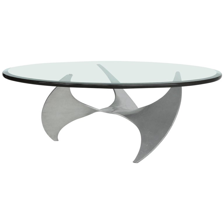 Knut Hesterberg Propellor Table for Ronald Schmitt, Germany, 1960s