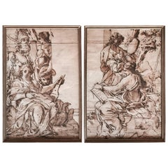 Old Master Drawings, Scenes of Gods