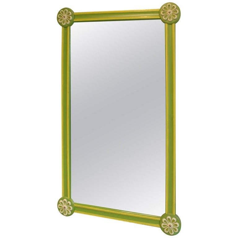 Pop Art Modern Vintage Drexel Mirror 1