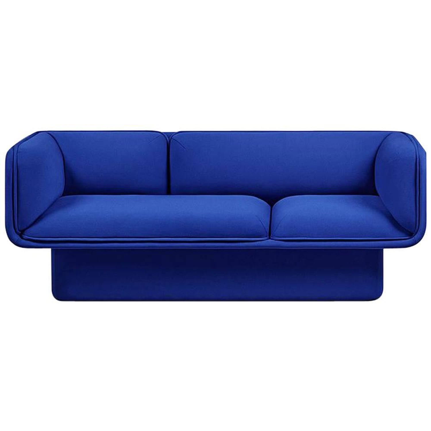 Block Blue Sofa Studio Mut For Sale at 1stdibs