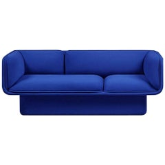 Block Blue Sofa, Studio Mut