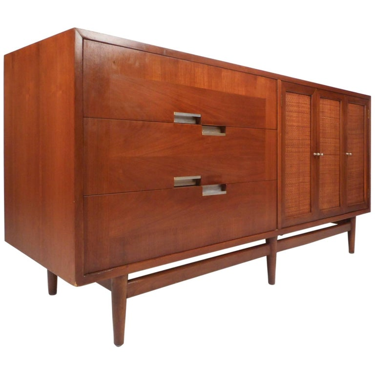 Mid Century Modern Dresser By American Of Martinsville For