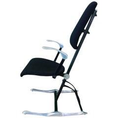 Rare and Pristine Hille Meridio Posturepedic Chair Designed by Michael Dye