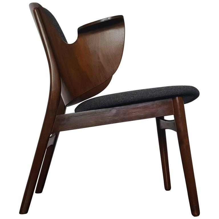Hans Olsen Lounge Shell Chair Model 107 for Bramin Mobler, Denmark, 1950s