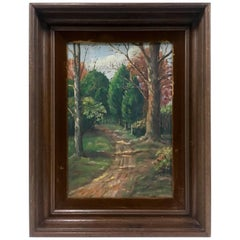 1932 Original Oil On Canvas Painting By, Marion Morgan