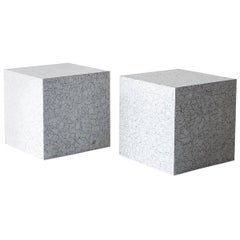 Andy Messenger Cube Tables in Coquille d'Oeuf, 2017
