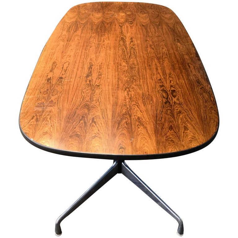 Rosewood Herman Miller Eames Conference or Dining Table