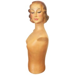 French Mid-Century Mannequin Model Magasin