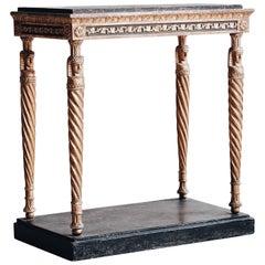 Gustavian Console Table, circa 1810