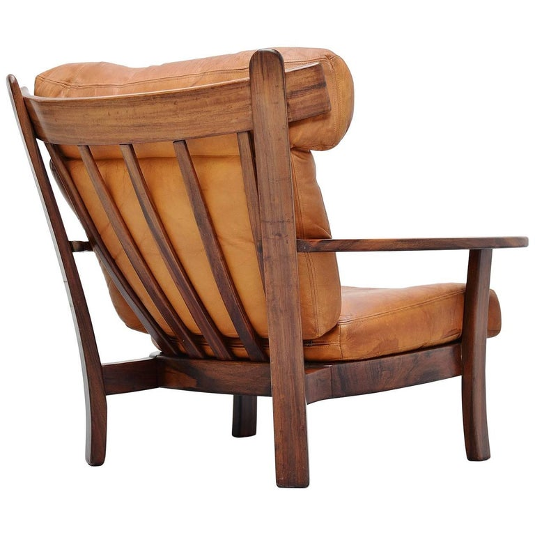 Sergio Rodrigues Style Ox Lounge Chair Brazil, 1960